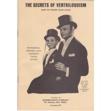 The Secrets of Ventriloquism - Book by William Ogle