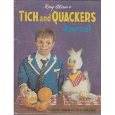 Tich and Quackers 1967 Annual - Book by Ray Alan