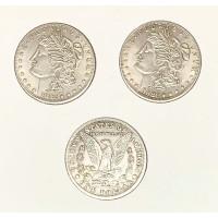 Morgan Dollar Triple Whammy Coin Set