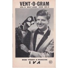 Vent-O-Gram Magazine Volume 6 Number 2 - Bob Trent Cover