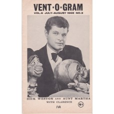 Vent-O-Gram Magazine Volume 6 Number 3 - Dick Weston Cover