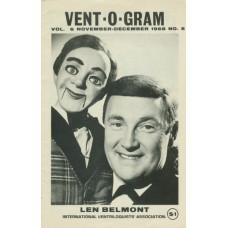 Vent-O-Gram Magazine Volume 6 Number 5 - Len Belmont Cover