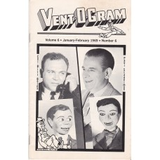 Vent-O-Gram Magazine Volume 6 Number 6 - Boley / Stadelman Cover