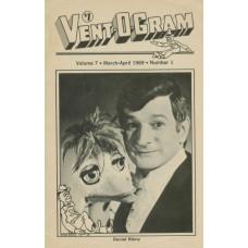 Vent-O-Gram Magazine Volume 7 Number 1 - Daniel Remy Cover