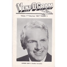 Vent-O-Gram Magazine Volume 7 Number 2 - Clifford Guest Cover