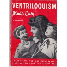 Ventriloquism Made Easy - Book by John Mendoza