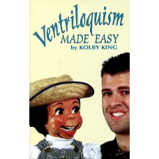 Ventriloquism Made Easy - Book by Kolby King