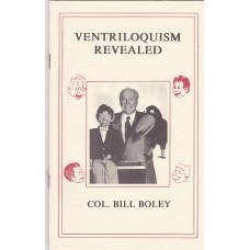 Ventriloquism Revealed - Book by Maher Studios - Col. Bill Boley Cover