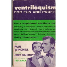 Ventriloquism for Fun and Profit - Book by Paul Winchell
