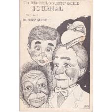 Ventriloquists' Guild Journal - magazine - Volume 2 Number 2