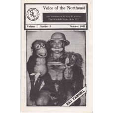 Voice of the Northeast Magazine Volume 2 Number 3 - Ray Farrell Cover