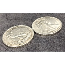 Walking Liberty Half Dollar Replica - SUPER STRONG MAGNETIC